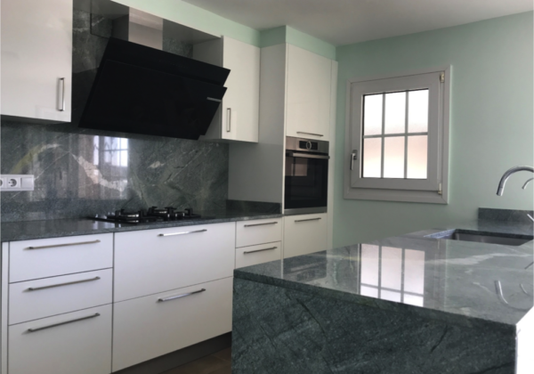 cocina marmol