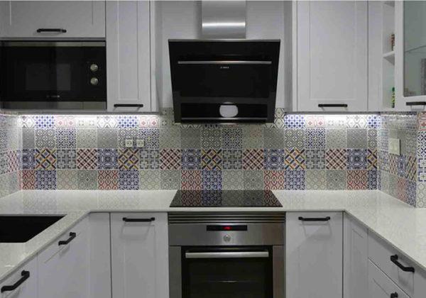 cocina mosaico