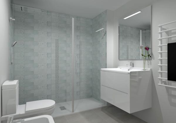 cuarto baño con ducha
