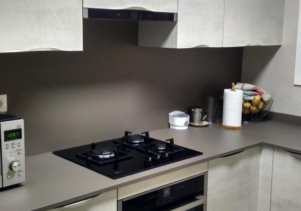 Detalle cocina encimera